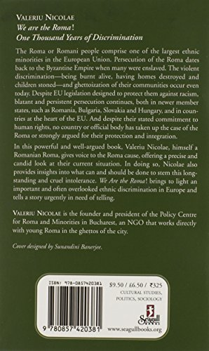 We are the Roma!: One Thousand Years of Discrimination (Manifestos for the Twenty-first Century)