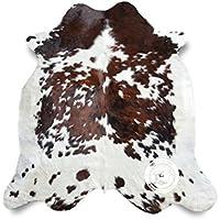 Tapis de peau de vache Tricolore 240 x 220 cm - Qualité Supérieur de PIELES DEL SOL