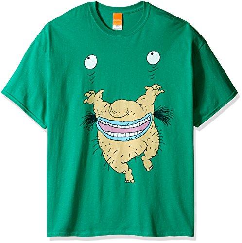 ig and Tall Rugrats Chuckie Poset-Shirt - Grün - XX-Large ()
