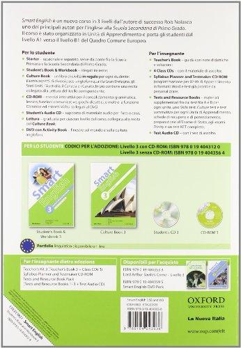 Smart english. Student's book-Workbook-Culture book. Per la Scuola media. Con CD Audio. Con espansione online: 3
