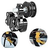 Sange Motorrad Kettenspanner Schraube auf Roller Einstellbare Aluminium für Motorrad Chopper ATV Dirt Bike