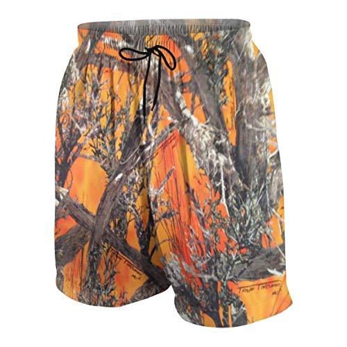 Digital Camo Cargo Short (Pillow Socks Realtree Camo Orange Boys Beach Shorts Quick Dry Beach Swim Trunks Kids Swimsuit Beach Shorts,Boys' Classic Cargo Short XL)