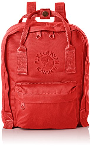 Fjällräven Re-Kånken Mini Kinder Rucksack, Red, 29 x 20 x 13 cm