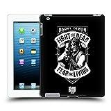 Head Case Designs Offizielle AMC The Walking Dead RPG Schwarz Weiss Daryl Dixon Biker Kunst Ruckseite Hülle für iPad 3 / iPad 4