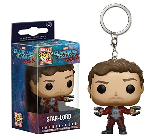 l Schlüsselanhänger - Star Lord - Peter Quill - Guardians Of The Galaxy Vol. 2 (Baby Pop Star Kostüm)