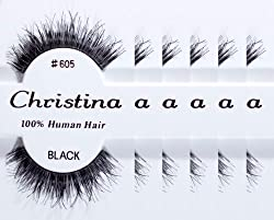 6packs Eyelashes - #605 (Same factory & production line as Red Cherry)