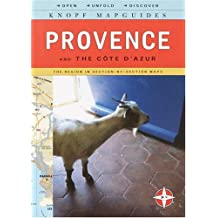 Knopf MapGuide: Provence and Cote D'Azur (Knopf Mapguides)