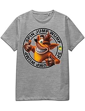 Crash Bandicoot T-Shirt LogoXL