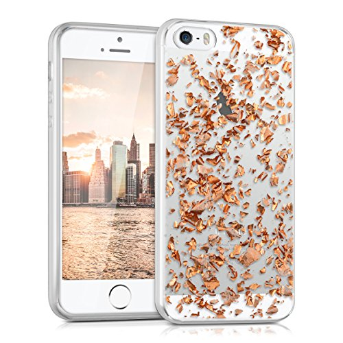 kwmobile-crystal-tpu-silicone-case-for-apple-iphone-se-5-5s-in-design-flakes-rose-gold-transparent