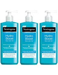 Neutrogena Hydro Boost Body Lotion Gel, 3er Pack (3 x 400 ml)