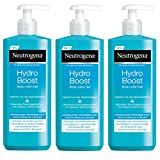 Neutrogena Hydro Boost bodylotion Gel, 3 Pack (3 x 400 ml)
