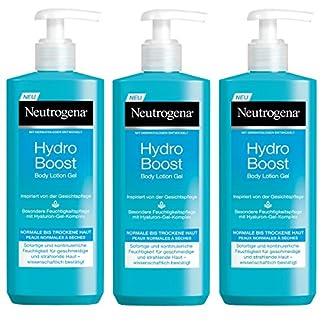 Neutrogena Hydro Boost Loción Corporal Hidratante En Gel – 3 Unidades x 400 ml.