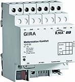 Gira 101000 Wetterstation Komfort KNX Einflächenbedienung REG