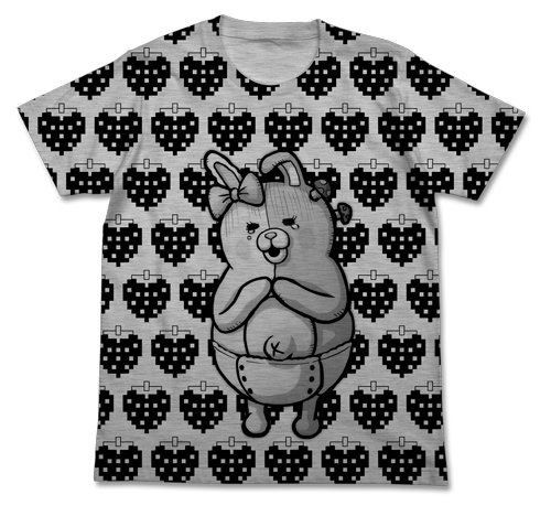 Super Dangan refute 2 Sayonara despair Gakuen Mono Mi Strawberry T-shirt Heather Grey Size: M (japan import)
