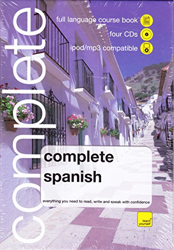 WHSmith Teach Yourself Complete Spanish Book/4 CD Pack