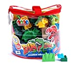 #5: Smartcraft Dinosaur Jungle Wild Blocks
