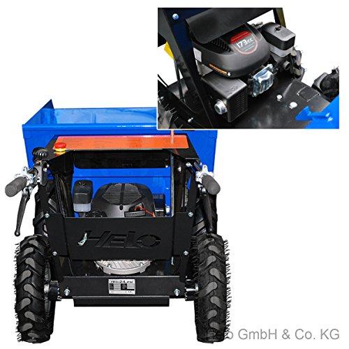 HELO Mini Dumper HML 250-N, motorisiert, allrad-angetrieben, mit 250 kg Trägermulde - 4