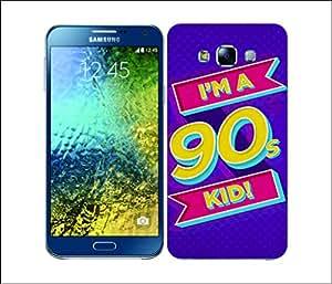 Galaxy Printed 2518 Nostalgic 90s Kid Hard Cover for Samsung E5