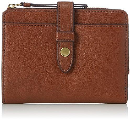 Fossil Damen Damentasche- Fiona Multifunktionale Tasche Geldbörse, Braun (Brown), 3.18x10.8x13.65 cm