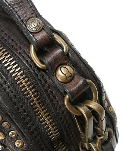 Bowling Tasche Campomaggi Leder verzierte Grau Damen Grau aus B4wfEx