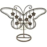 Art Deco Home - Candelabro T-Lite Mariposa 23 cm