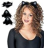 Katzenohren mit Clip Katzen Ohren Haarclip 2tlg.Set
