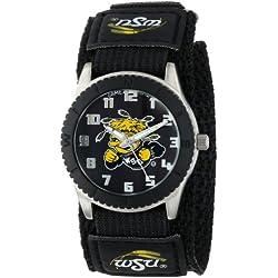 "Game Time Unisex COL-ROB-WST ""Rookie Black"" Watch - Wichita State"