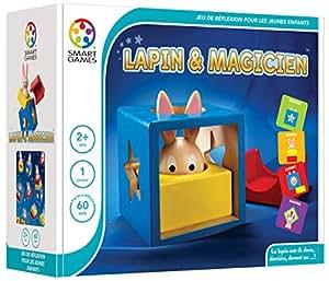Smartgames - SG 037 FR - Lapin et Magicien - Jeu de Réflexion de Logique et d'Observation