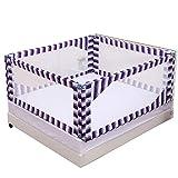 Bed Rail Baby Shatterproof Geländer, Bett und über dem Boden Dual-Use (drei Slice) (größe : 150×200cm)