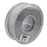 Ziro Filamento PLA para impresora 3D, 1,75 mm, color mármol/blanco, 1 kg