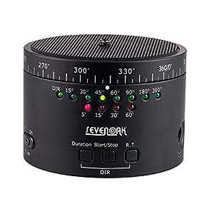 Sevenoak SK-EBH01 Rotule électronique panoramique rotative 360° pour SLR, DSLR, GoPro, iPhone et d'autres appareils avec vis 1/4''