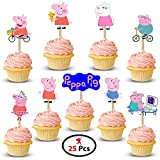 Party Propz™ Peppa Pig Cup Cake Topper set - Best Reviews Guide