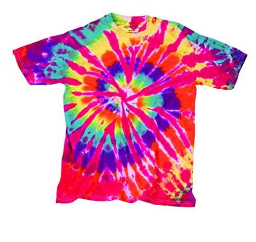 Dyenomite Herren T-Shirt rot Hell