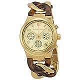 Michael Kors Michael Kors Kette Link Acryl Gold-Ton Damen Watch MK4222