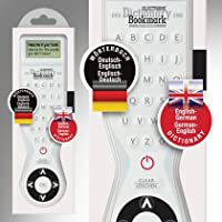 Electronic Dictionary Bookmark - Bilingual English-German / German-English
