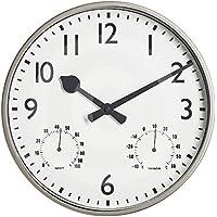 "Gardman Uhr ""Akademy"", metall, 32x5x32 cm, 17222"