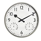"""'Gardman Reloj """"akademy, metal, 32x 5x 32cm, 17222"""