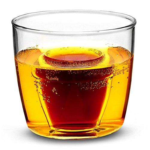 Shot-Gläser für Jägerbombs, Glas, 175ml?3er-Set?Glas, für Jägerbombs