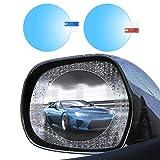 Dream-D Pellicola per specchietti retrovisori per Auto per specchietti retrovisori e finestrini Laterali Adesivo Impermeabile antiriflesso Impermeabile 2PCS (95 * 95MM) -Auto, Camion, rimorchi