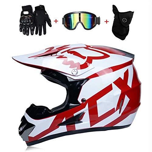 AA-Helmet TOKU Motocross Adulto Casco MX Motocicleta