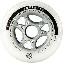 Ruedas poweslide Infinity II 4-Pack, blanco, 84 mm, 905226