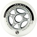 Powerslide Rollen Infinity II 4-Pack, Weiß, 90mm, 905222