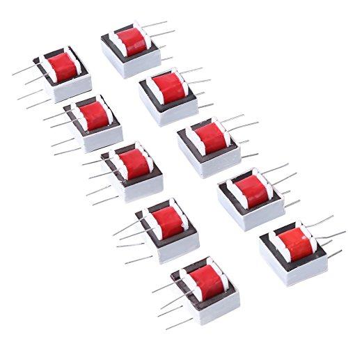10Pcs Audio Transformatoren 600: 600 Ohm 1: 1 EI14 Trenntransformator