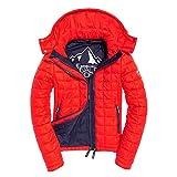 Superdry Damen Steppjacke Box Quilt Fuji Sport Code Red - M