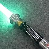BoMan Sabre Laser de Haute qualité Dueling Saber pour Skywalker, Cadeau pour Enfants et Adultes,Vert