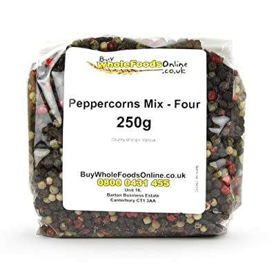 Peppercorns Mix - Four 250g by Buy Whole Foods Online Ltd.