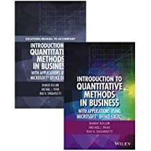Introduction to Quantitative Methods in Business: With Applications Using Microsoft Office Excel Set by Bharat Kolluri (2016-08-01)