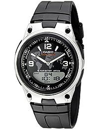 Casio AW-80–1a2vcf banco de datos del hombre analógico/digital pantalla reloj de cuarzo negro