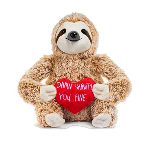 Sloth Bär Plüschbär,kuschelweiches Stofftier als Geschenkidee für Freund,Plüsch Kuschelbär Valentines Day Kuscheltiere Freundin Geschenke - Teddy Riesen Bär Valentines