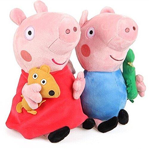 - 51J8ngPHxwL - iDream Pig Plush Action Figure For Kids – 19Cm (Set Of 2 Pcs) – Multi Color home - 51J8ngPHxwL - Home